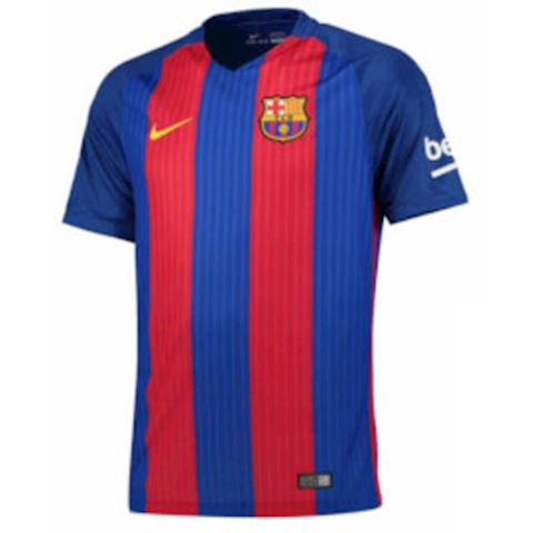 Nike Barcelona Mens SS Home European Shirt 2016/17
