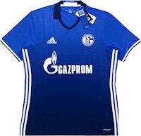 e6cc9e1fd83 adidas Schalke 04 Mens SS Home Shirt 2016 18