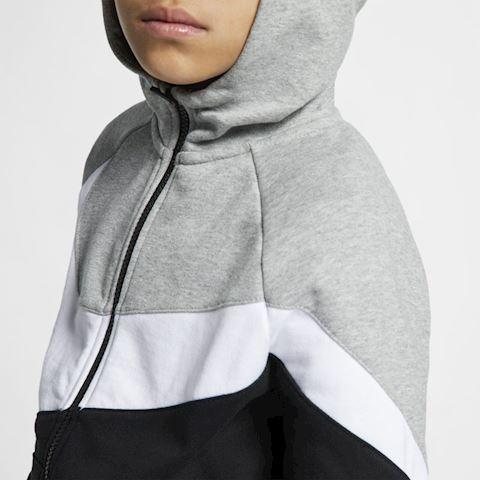Nike Sportswear Kids' Full-Zip Hoodie - Grey Image 3