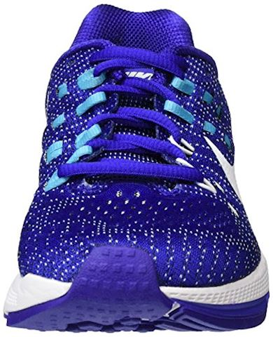 Nike Air Zoom Structure 19 Women's Running Shoe - Blue Image 4