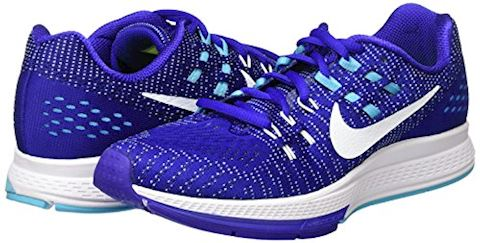 Nike Air Zoom Structure 19 Women's Running Shoe - Blue Image 5