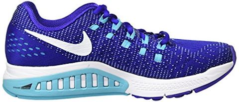 Nike Air Zoom Structure 19 Women's Running Shoe - Blue Image 6