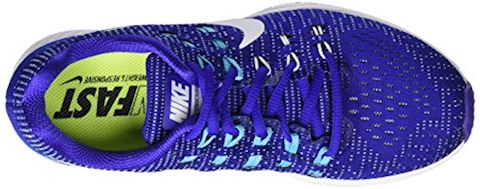 Nike Air Zoom Structure 19 Women's Running Shoe - Blue Image 7