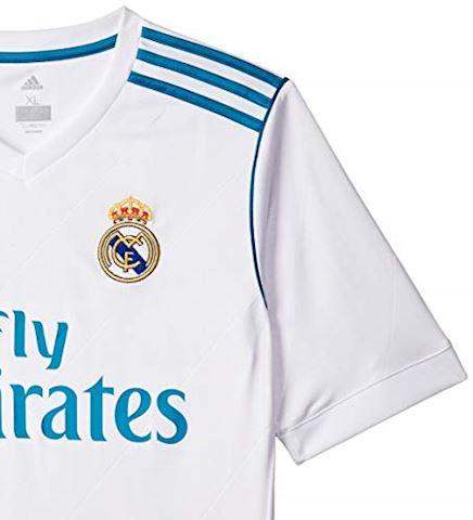adidas Real Madrid Kids SS Home Shirt 2017/18 Image 3