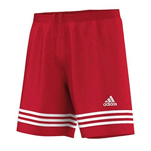adidas Entrada 14 Shorts University Red White Image