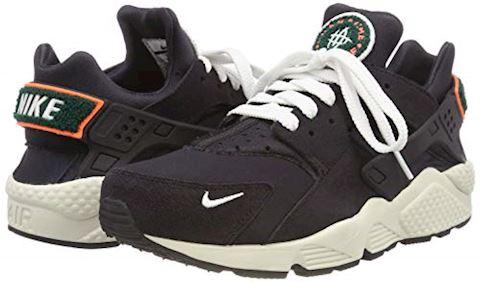Nike Air Huarache Run Premium Black Image 5