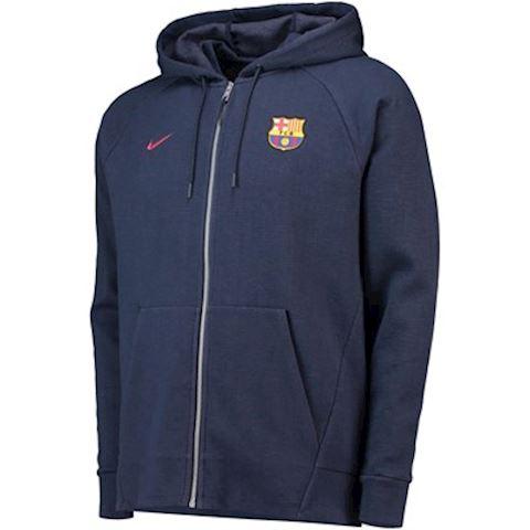 Nike FC Barcelona Men's Full-Zip Hoodie - Blue Image