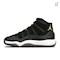 Nike Air Jordan 11 Retro Women's Shoe - Black Thumbnail Image