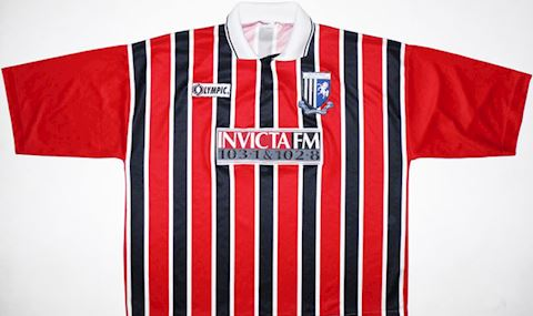 Gillingham Mens SS Away Shirt 1995/96 Image