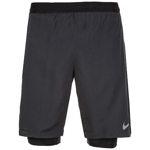 Nike Flex Stride Men's 9(23cm approx.) 2-in-1 Running Shorts - Black