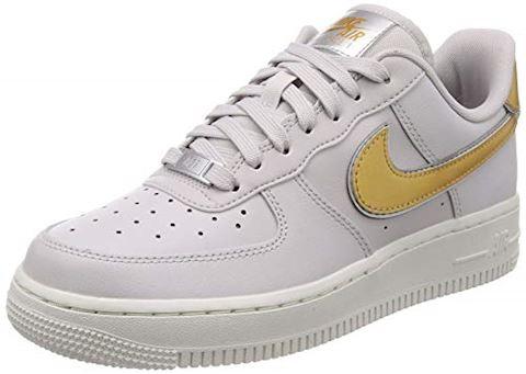 Nike Air Force 1' 07 Metallic Women's Shoe - Grey Image