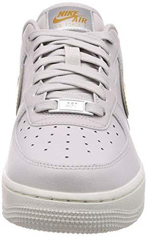 Nike Air Force 1' 07 Metallic Women's Shoe - Grey Image 4
