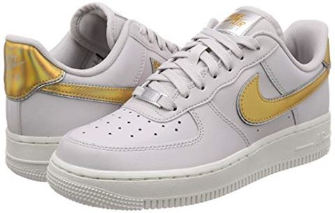 Nike Air Force 1' 07 Metallic Women's Shoe - Grey Image 5