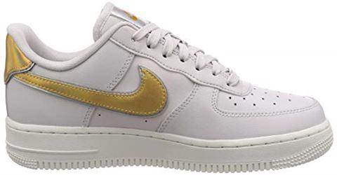 Nike Air Force 1' 07 Metallic Women's Shoe - Grey Image 6