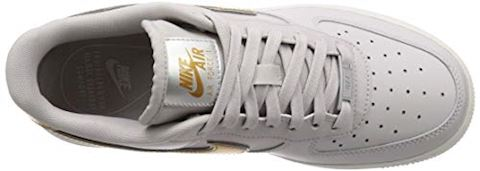 Nike Air Force 1' 07 Metallic Women's Shoe - Grey Image 7