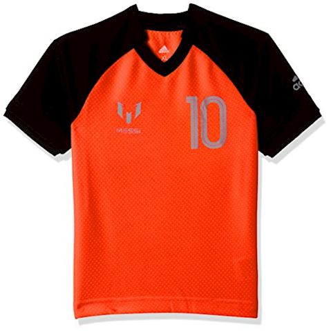 adidas Training T-Shirt Messi Icon Pyro Storm - Solar Orange/Black Kids Image