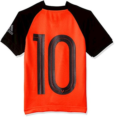 adidas Training T-Shirt Messi Icon Pyro Storm - Solar Orange/Black Kids Image 2
