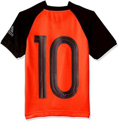 adidas Training T-Shirt Messi Icon Pyro Storm - Solar Orange/Black Kids Image 2