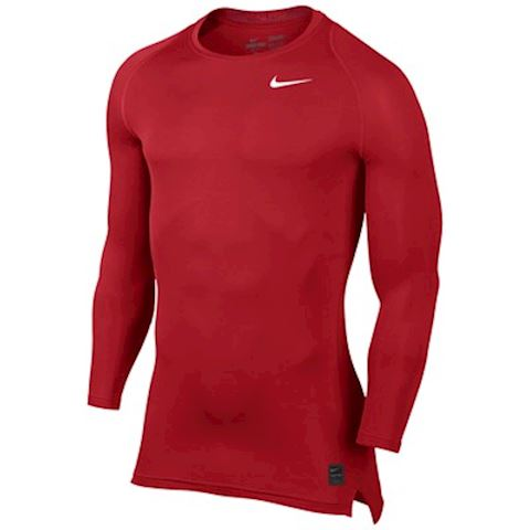 Nike Pro Combat Core Mock Baselayer (red)