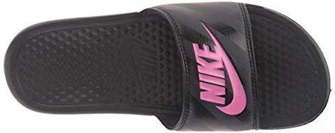 Women's Nike Benassi JDI Black Image 8