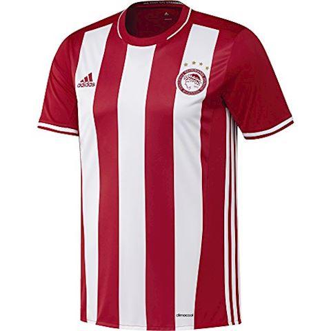 adidas Olympiacos Mens SS Home Shirt 2016/17 Image