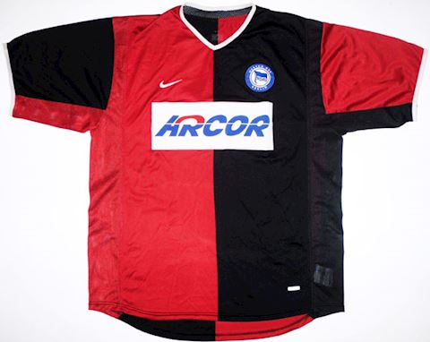 Nike Hertha Berlin Mens SS Away Shirt 2001/02 Image