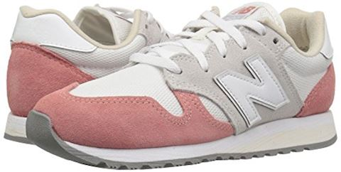 New Balance  WL520  women's Shoes (Trainers) in White Image 13
