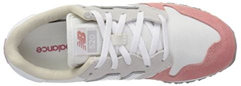 New Balance  WL520  women's Shoes (Trainers) in White Image 15
