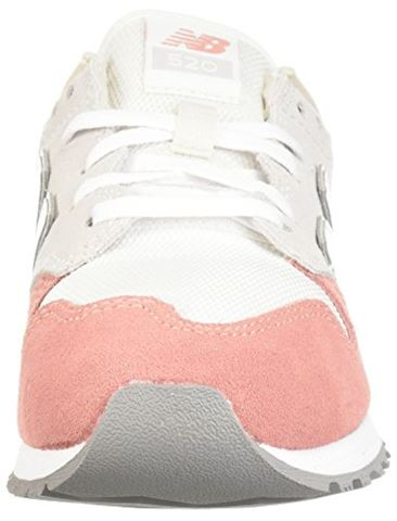 New Balance  WL520  women's Shoes (Trainers) in White Image 4