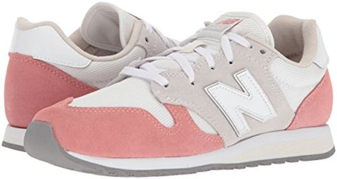 New Balance  WL520  women's Shoes (Trainers) in White Image 6