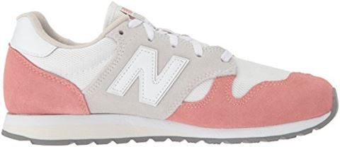 New Balance  WL520  women's Shoes (Trainers) in White Image 7