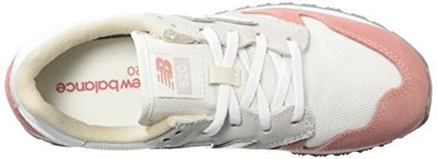 New Balance  WL520  women's Shoes (Trainers) in White Image 8