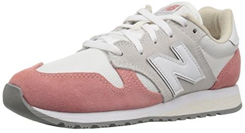 New Balance  WL520  women's Shoes (Trainers) in White Image 9