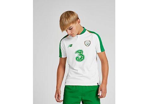 New Balance Republic of Ireland Kids SS Away Shirt 2018 Image