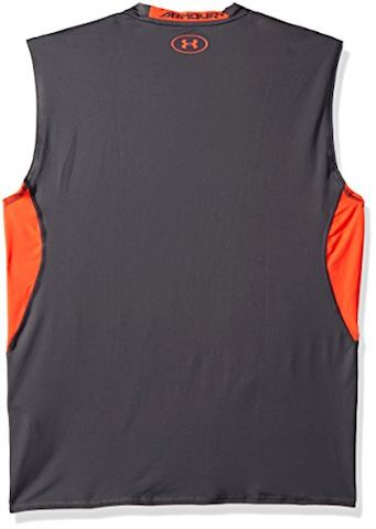 Under Armour Men's UA HeatGear Armour Sleeveless Compression Shirt Image 2