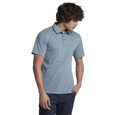 Nike Hurley Dri-FIT Lagos Men's Polo - Blue Image