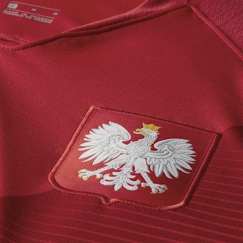 Nike Poland Mens SS Away Shirt 2018 Image 3