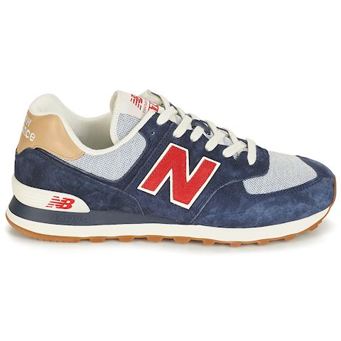 best authentic 6f7a4 c760e New Balance 574 Navy/ Red/ White