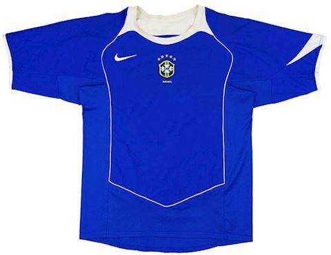 Nike Brazil Kids SS Away Shirt 2004 Image