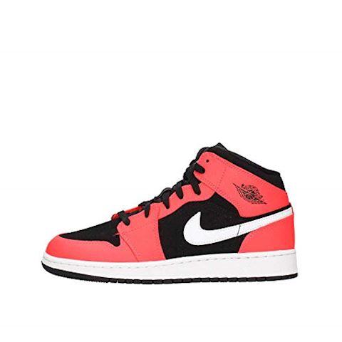 low priced ba03e c0c10 Nike Air Jordan 1 Mid Older Kids  Shoe - Black Image