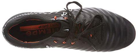 Nike Tiempo Legend VII Elite Firm-Ground Football Boot - Black Image 7
