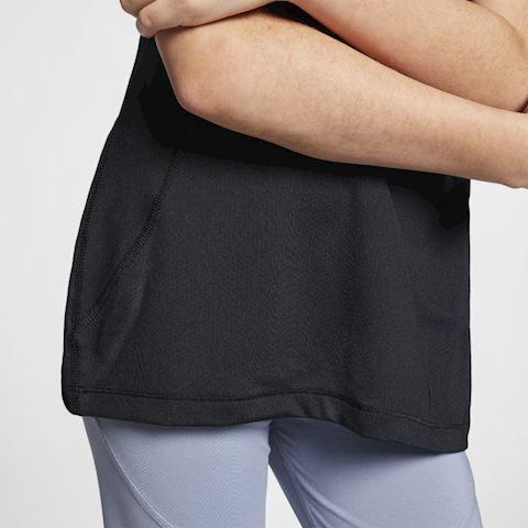 Nike Pro Older Kids' (Girls') Short-Sleeve Top - Black Image 4