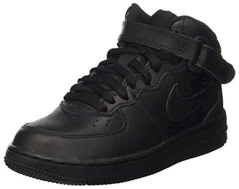 Nike Air Force 1 Mid Younger Kids' Shoe - Black Image