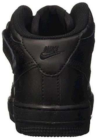 Nike Air Force 1 Mid Younger Kids' Shoe - Black Image 2