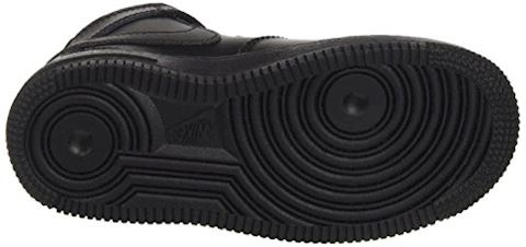 Nike Air Force 1 Mid Younger Kids' Shoe - Black Image 3