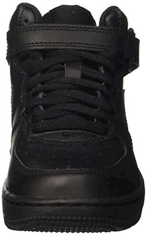 Nike Air Force 1 Mid Younger Kids' Shoe - Black Image 4