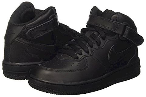 Nike Air Force 1 Mid Younger Kids' Shoe - Black Image 5