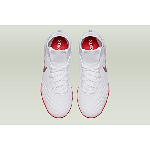 Nike Jr. MagistaX Obra II Academy Dynamic Fit IC Younger/Older Kids'Indoor/Court Football Shoe - White Image 4