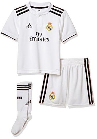 size 40 f4814 50b3a adidas Real Madrid Kids SS Home Mini Kit 2018/19