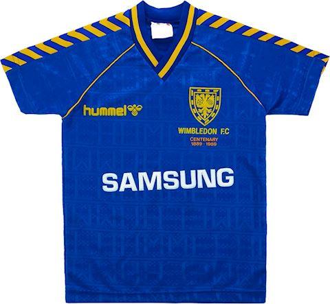 Hummel AFC Wimbledon Kids SS Home Shirt 1988/89 Image